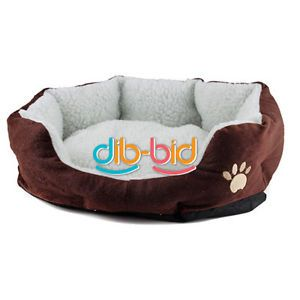 Gift Cute Warm Soft Comfortable Pet Dog Cat Bed Style Sleep Accessories w Mat