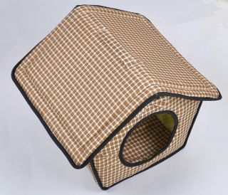Hot Sale Style Soft Pet Dog Cat Bed House Kennel Doggy Warm Cushion Basket
