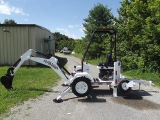 2008 RHM Go for Digger Low Hours Towable Backhoe Mini Excavator Kohler Engine