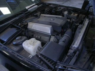 BMW 540i Engine
