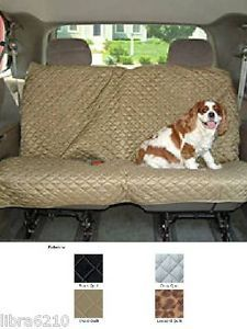 Snoozer Pet Dog Cat Car SUV Robe Full Bench Seat Protector Cover New