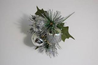 Large Christmas Picks Inc Jingling Bell Table Decorations Wreaths Garlands