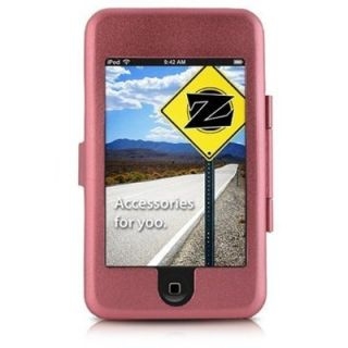 Hot Pink Aluminum Cover Case for iPod Touch 1st Gen 1g