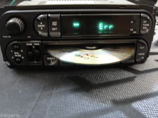 2002 2006 Dodge Caravan Chrysler Town Country CD Am FM Radio P05064354AI OEM