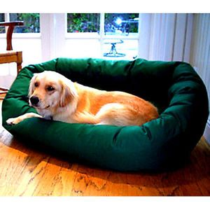 "Majestic Pet Products 52"" Extra Large Bagel Donut Pet Bed for Dogs 70 110 Lbs"