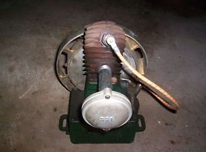Original Maytag Magneto Upright Multi Motor Hit Miss Gas Engine with Muffler