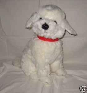 New Bichon Frise Puppy Dog Soft Stuffed Animal Toy 40cm 16inch