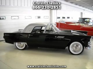 Stunning 1955 Ford Thunderbird Hard Top Convertible 292CI 3 Speed O D Must See