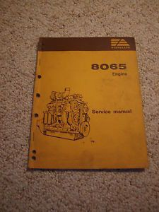 Fiat Allis Iveco 8065 Engine Service Manual 65B Grader FR10 FR12 Wheel Loader