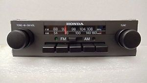 Original 1983 Honda Accord Civic Radio Stereo Receiver Am FM PA CR13FUH