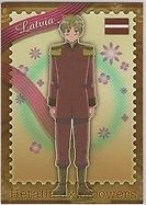 Hetalia APH Anime Brother Trading Card 18 Latvia