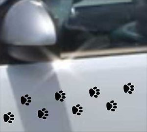 32 Cat Dog Paw Prints Paws Decal Sticker Vinyl Art Car Bike Home Decoration