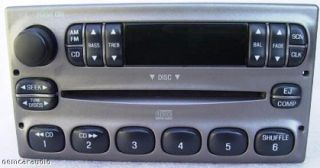 Ford Explorer Ranger F150 Radio Lincoln Town Car CD Player 98 99 2000 01 02 03