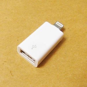 8 Pin to USB Flash Drive Digital Camera Memory Card Adapter for Apple IPAD4 Mini