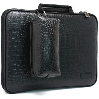 Apple MacBook Air 13 Laptop Case Sleeve Protect Bag Crocodile Synthetic Leather