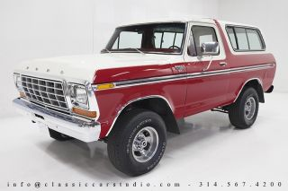 1978 Ford Bronco XLT Freshly and Fully Restored and Ready for Fall Driving