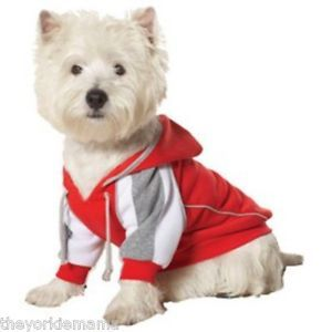Pet Dog Hoodie Hooded sweat Shirt Winter Puppy Apparel Clothes Jacket Coat