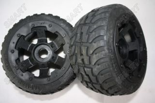Rovan on Road Tire on HD 6 Spoke Wheels Fit HPI Baja Buggy 5B SS V2 0 King Motor