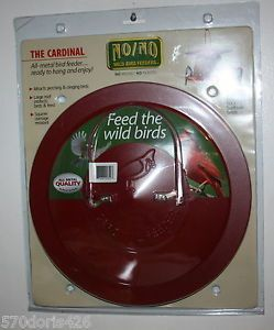 No No Wild Bird Feeders Dispenses Black Oil Sunflower Seeds Wire Basket Feeder