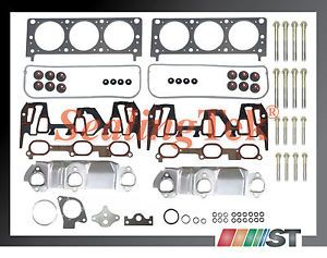 1999 GM 3400 3 4L 207 V6 Vin E Head Gasket Set w Bolts Engine Cylinder Parts