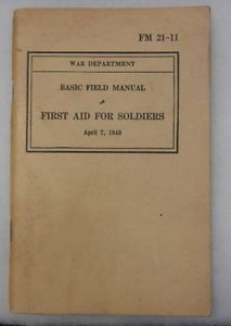 WW2 Army First Aid Kit