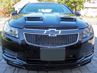 2011 2012 2013 Chevrolet Cruze Lightweight Power RAM Air Hood Predator II Style