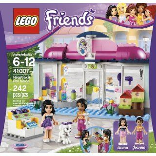 Lego Friends Heartlake Pet Salon 41007  New