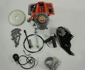 33cc Gas Motorized 4 Stroke Motor Bicycle Engine E Bike Kit Scooter DIY Bike PPS