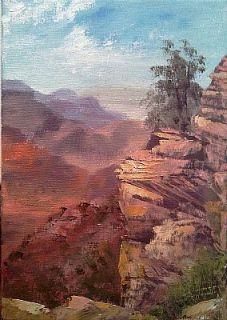 Original Western Oil Painting