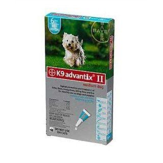 Advantix II Flea and Tick Treatment Pet Care for Dogs 11 20 lbs 6 Month Supply