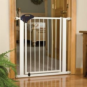 Walk thru Baby Pet Safety Secure Extra Tall Gate Door