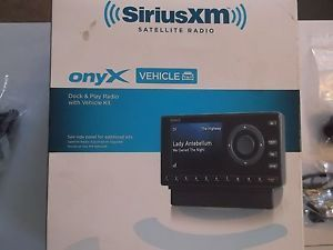 Sirius XM Onyx Dock Play Satelite Radio Audiovox BXDNX1V1 884720012198