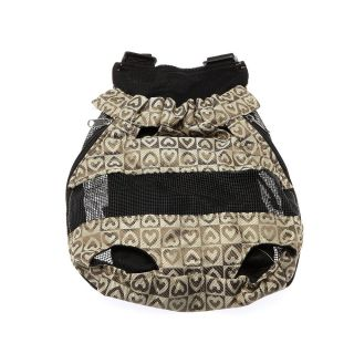 New Puppy Pet Dog Front Style Legs Out Carrier Backpack Net Bag M Size