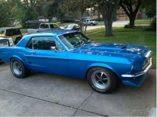 Ford Mustang Coupe 306 Cobra Engine