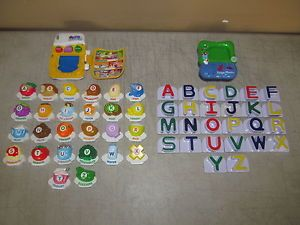 Vtech LeapFrog Fridge Phonics ABC Food Fun Magnetic Letter Alphabet Set