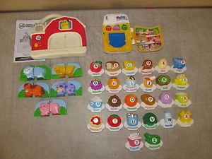Vtech LeapFrog Fridge Phonics ABC Food Fun Magnetic Letter Alphabet Farm Set
