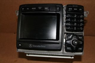 00 02 CL500 CL600 S430 S500 S600 Mercedes Benz Navigation GPS Radio 3 Disc