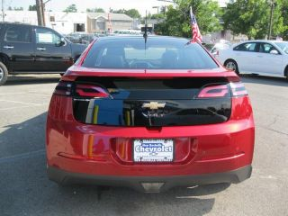 12 Red Chevy Volt Electric Chrome Wheels Black Leather 16K Miles Warranty Camera