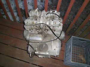 81 82 Kawasaki KZ1000 KZ1000J Complete Engine Motor Cases Head Cylinder Clutch