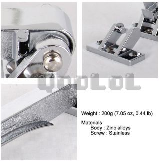 Qoolol Door Safety Gate Lock Hardware Stainless Steel Door Hasp Latches
