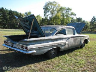 1960 Chevy Bel Air Very Original Field Fresh BTWN Impala and Biscayne Belair
