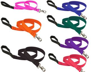 Lupine Dog Leash Lead Allsizes Red Black Blue Pink Etc