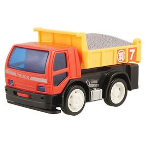 Children Sand Soil Gravel Dump Truck Toy Red Yellow Bixdm