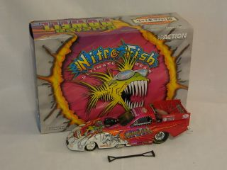 NHRA 2001 Cristen Powell 1 24 Scale Nitro Fish Camero Funny Car Die Cast