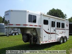 LAKOTA All Aluminum Horse Trailer w Weekender L Q No Hidden Reserve $190 MO