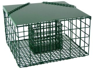 Squirrel Proof Resistant Suet Palace Wild Bird Feeder