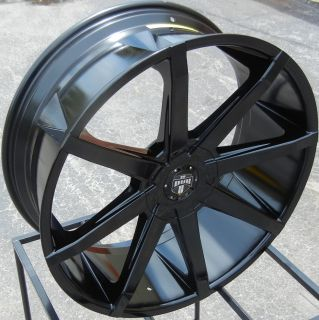 "22"" Dub Push Wheels Rim Cadillac Escalade Avalanche Sierra Ford F150 Expedition"