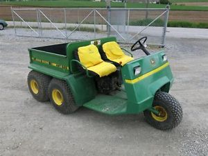 Nice Original John Deere AMT 626 Five Wheel Gator Kawasaki Engine