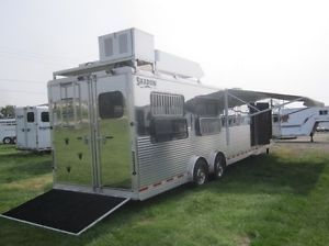 2012 Shadow All Aluminum 4 Horse Trailer with 16' Living Quarters