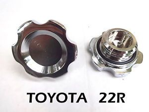 Billet Aluminum Engine Oil Filler Cap for Toyota Pickup Truck Hilux 4Runner 22RE